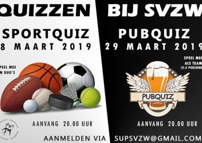 Quizzen voorjaar 2019
